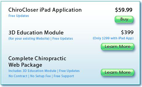 pricing iPad app for medical 3D animations with white boarding
